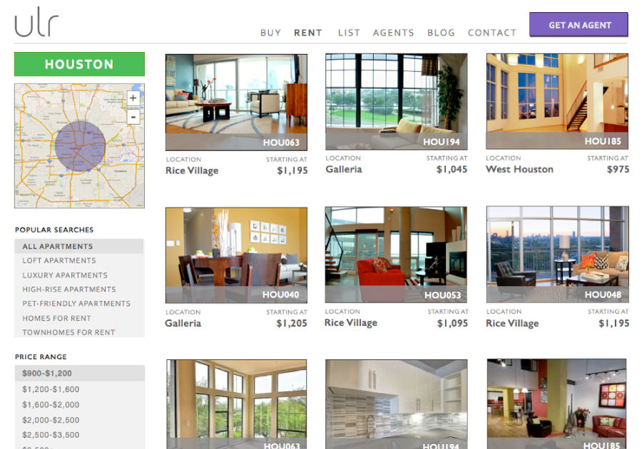A great web design by iris, Denver, CO: Responsive Website, Web Application , Real Estate , Django