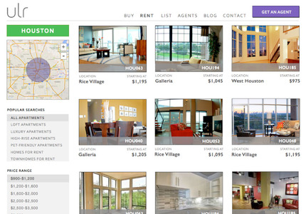 A great web design by iris: Responsive Website, Web Application , Real Estate , Django