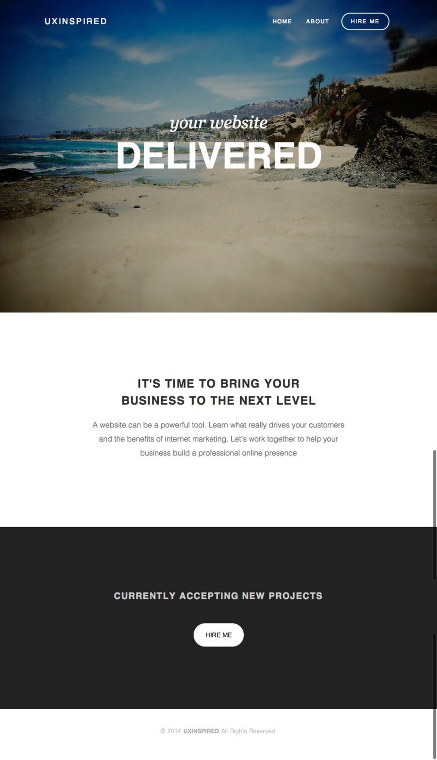 A great web design by www.uxinspired.com, Salt Lake City, UT: Responsive Website, Portfolio , Internet , Drupal