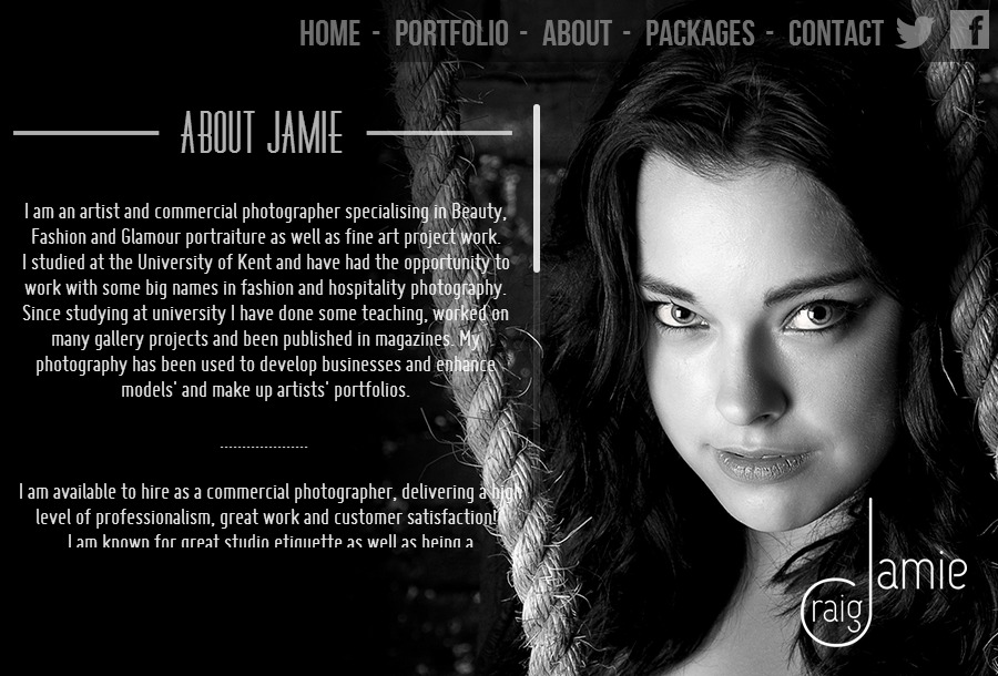 A great web design by Smokescreen Creative, Tunbridge Wells, United Kingdom:
