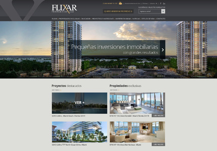 A great web design: Website, Portfolio , Real Estate , PHP