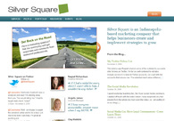 A great web design by Silver Square, Indianapolis, IN: