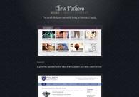 A great web design by Chris Pacheco, Toronto, Canada: