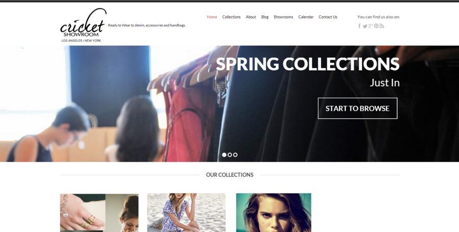 A great web design by Emineo Design, New York, NY: Responsive Website, Portfolio , Fashion , Wordpress