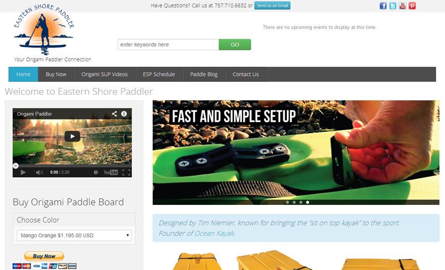 A great web design by River City Branding, Richmond, VA:
