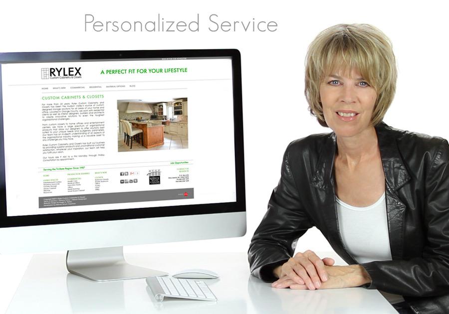 A great web design by Brenda Simon Creations, Los Angeles, CA: