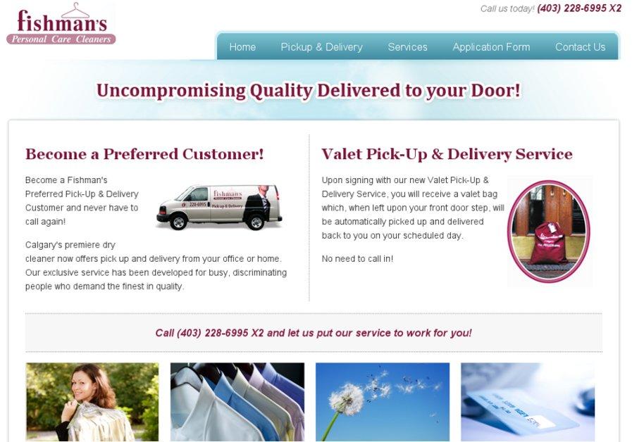 A great web design by Nick Yeoman, Kelowna, Canada: