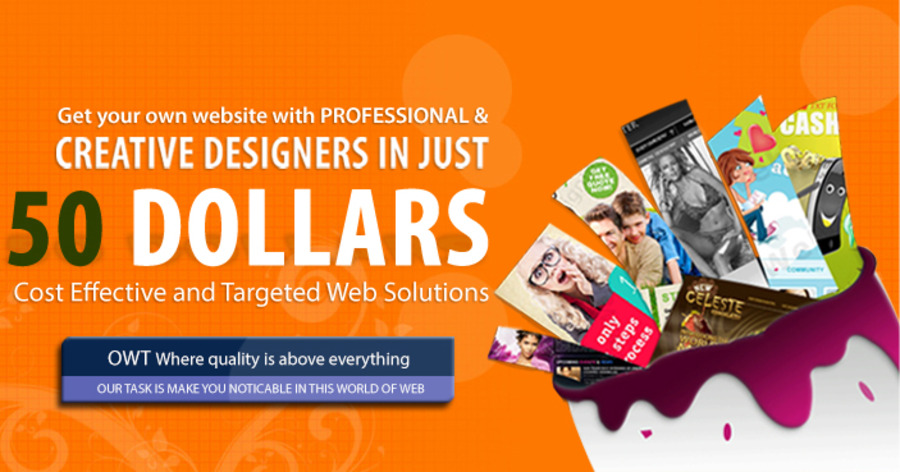 A great web design by Om Web Technologies, New Delhi, India: