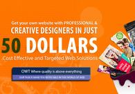 A great web design by Om Web Technologies, New Delhi, India:
