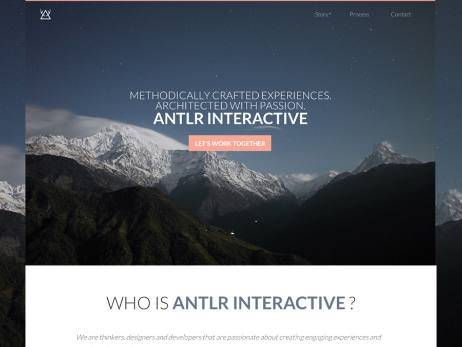 A great web design by ANTLR Interactive, Pittsburgh, PA: