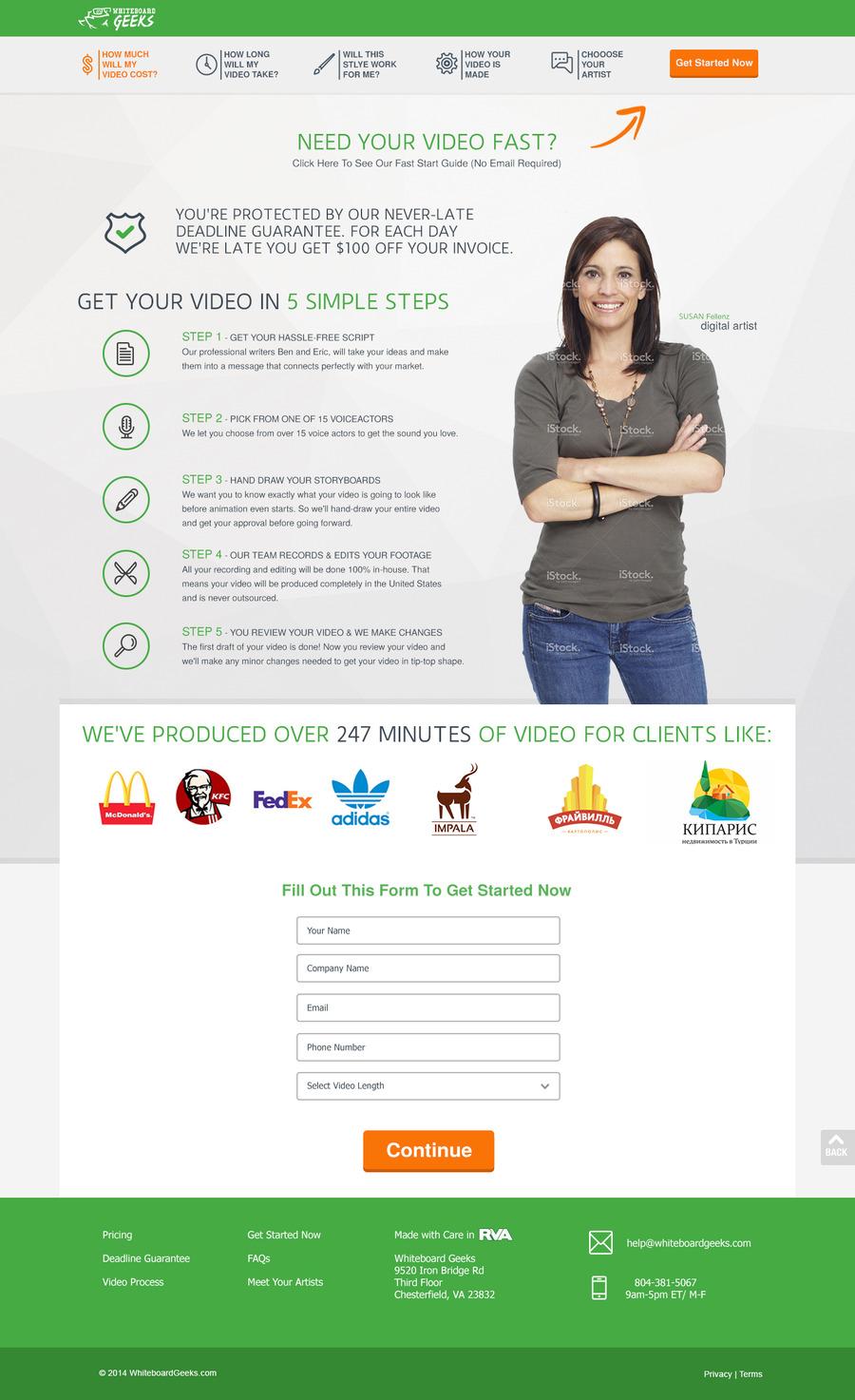 A great web design by Justin Garza, Dallas, TX: