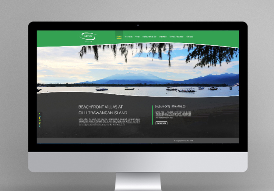 A great web design by Toneyes Web Agency, Bangkok, Thailand: