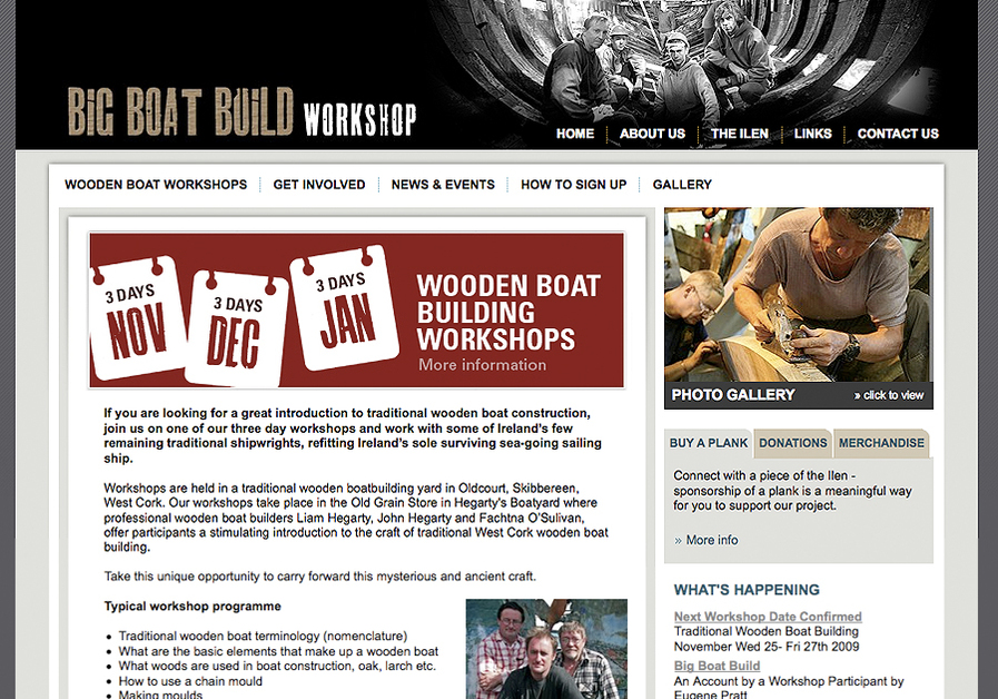 A great web design by www.copperreed.com, Dublin, Ireland: