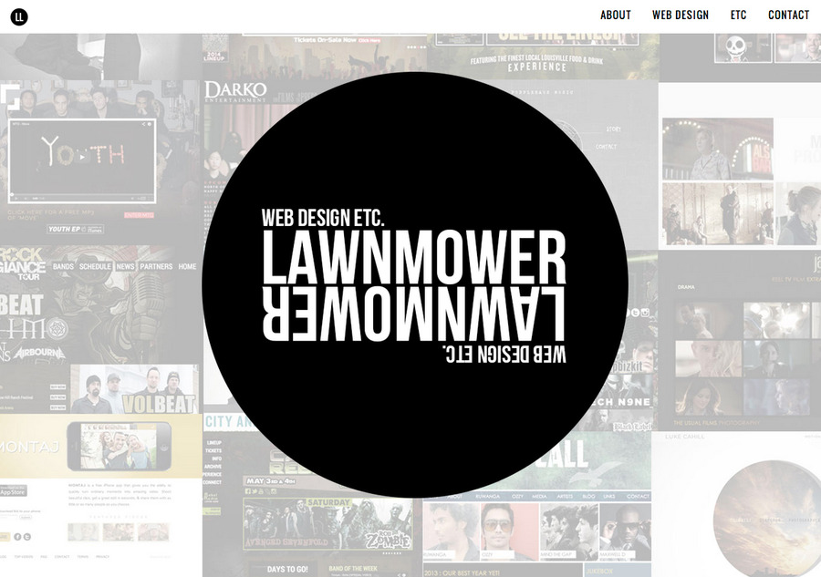 A great web design by Lawnmower Lawnmower, Los Angeles, CA: