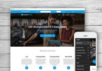 A great web design by ColourFreak, Poland, Poland: Responsive Website, Marketing Website , Marketing , Design Only