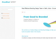 A great web design by CircumBrand, New Delhi, India: