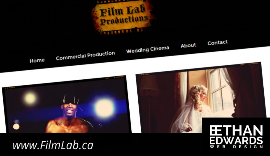 A great web design by Ethan Edwards Web Design, Saint Catharines, Canada: Website, Television