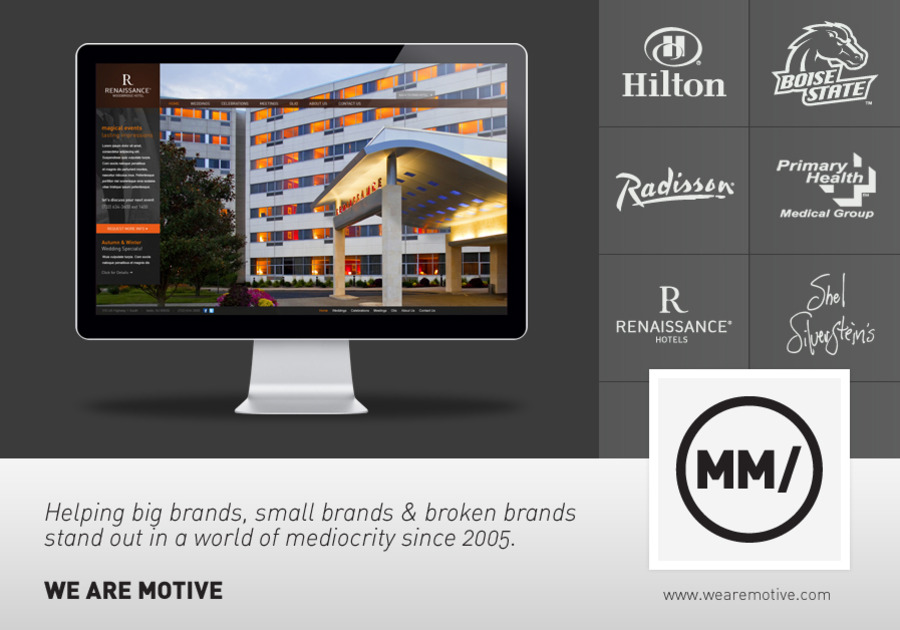 A great web design by Motive Media, Boise, ID: