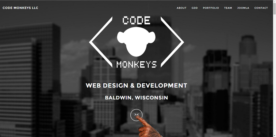 A great web design by Code Monkeys LLC, Minneapolis, MN: Responsive Website, Marketing Website , Software , PHP