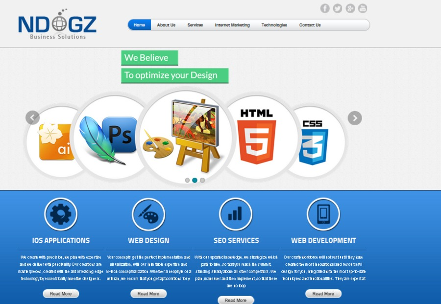 A great web design by NDOGZ Business Solutions Ltd., London, United Kingdom: