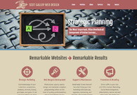 A great web design by Scot Gallup Web Design & Development, Chicago, IL: