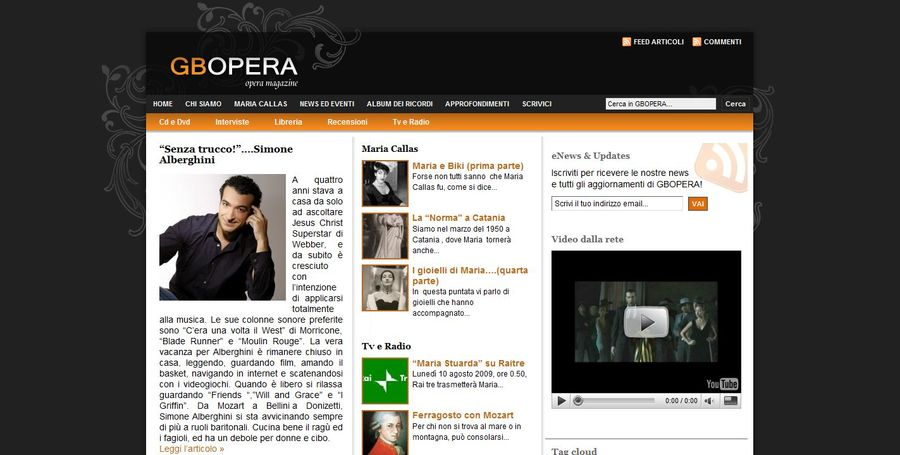 A great web design by Aptadigital, Verona, Italy: