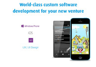 A great web design by New Venture Software, Sofia, Bulgaria: