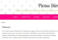 A great web design by Plexus Worldwide, Scottsdale, AZ: Website, Marketing Website , Healthcare