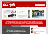 A great web design by Oomph, Providence, RI: