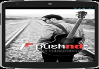 A great web design by Clavax Technologies LLC, New York, NY: Mobile App , Social/Community , Music , PHP