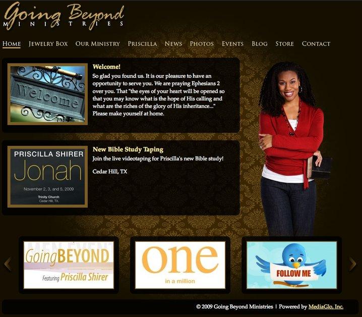 A great web design by MediaGlo, Dallas, TX: