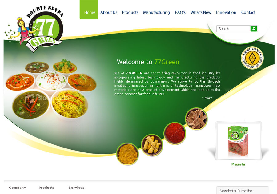 A great web design by Dudakiya Dhaval, Rajkot, India: