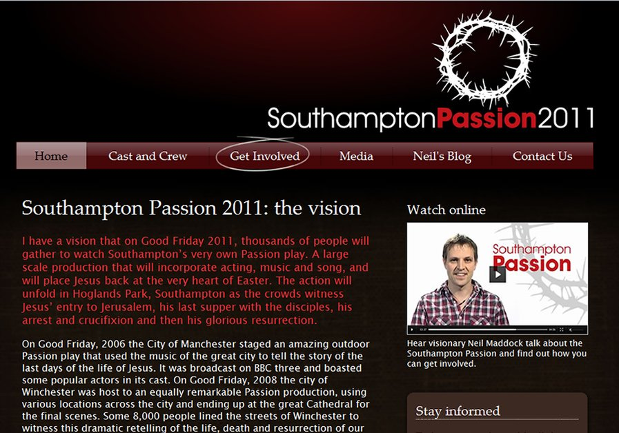 A great web design by Phil Le Cheminant, Jersey, United Kingdom: