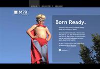 A great web design by M79 Studios Inc., Toronto, Canada: