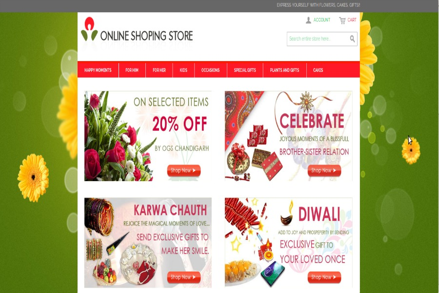 A great web design by Multi Dimension Web Marketing Pvt Ltd, Mohali, India: