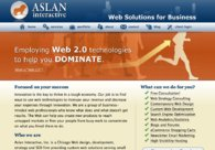 A great web design by Aslan Interactive, Inc., Chicago, IL: