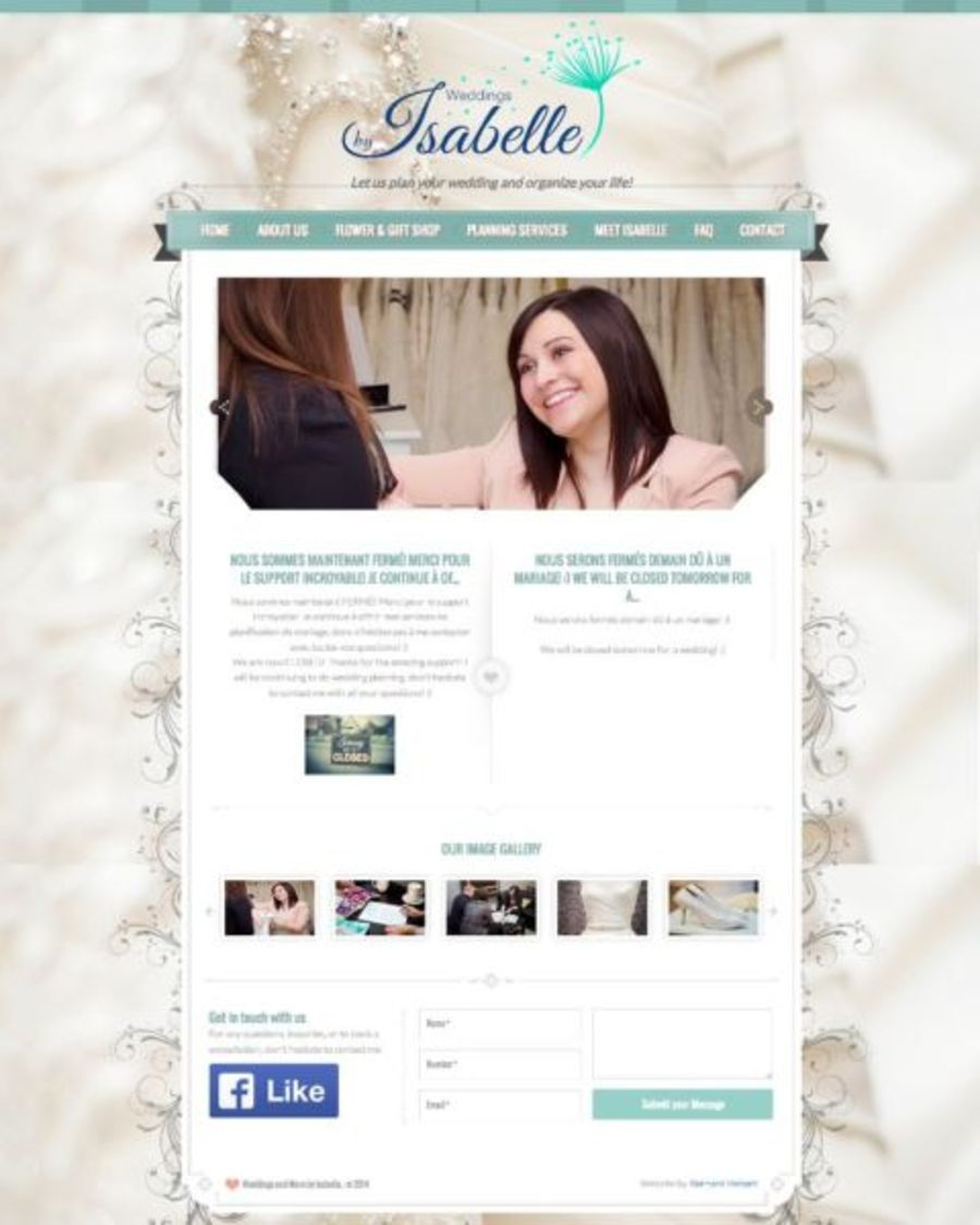 A great web design by BH Web Design, Moncton, Canada: