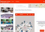 A great web design by Web developer, Paris, France: