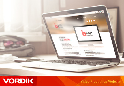 A great web design by Vordik Corp.: Responsive Website, Marketing Website , Film & Video , Wordpress