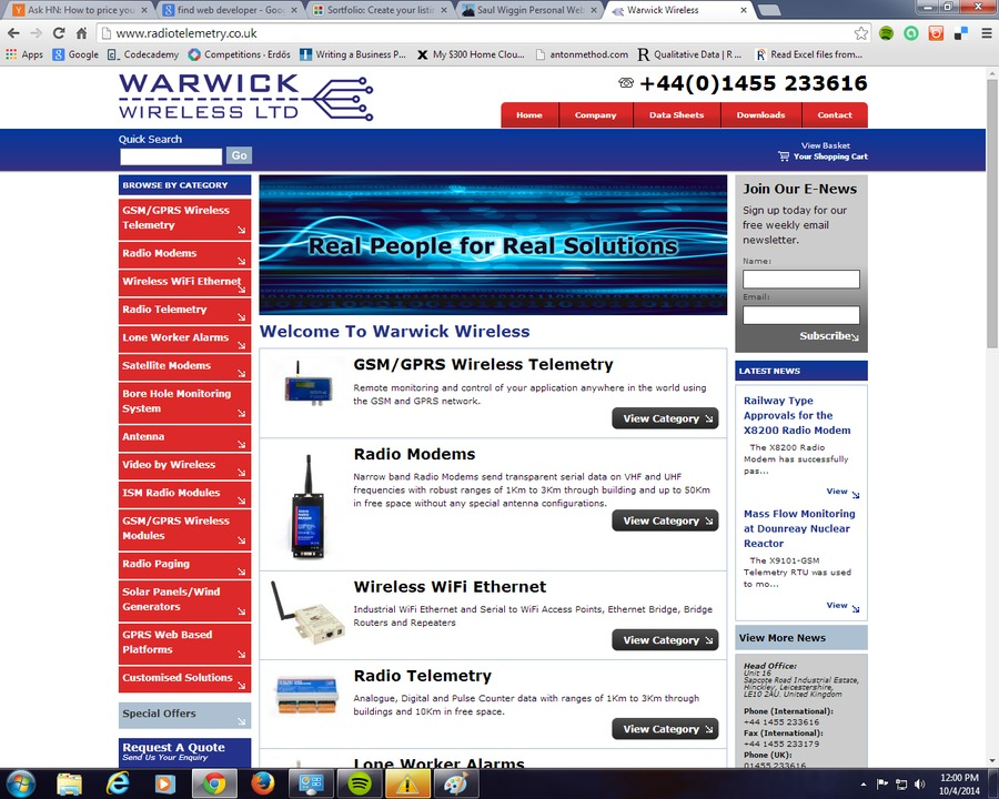 A great web design by Icarus, Warwick, RI: