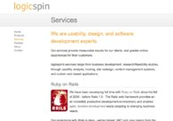 A great web design by logicspin, Honolulu, HI: