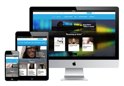 A great web design by Trasaterra, New York, NY: Responsive Website, Publishing , Publishing , Wordpress