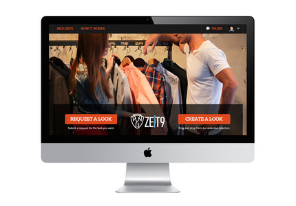 A great web design by Trasaterra, New York, NY: Website, Social/Community , Fashion , Ruby on Rails