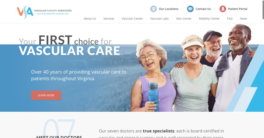 A great web design by Web Loft Designs, Dallas, TX: Responsive Website, Marketing Website , Healthcare, Wordpress