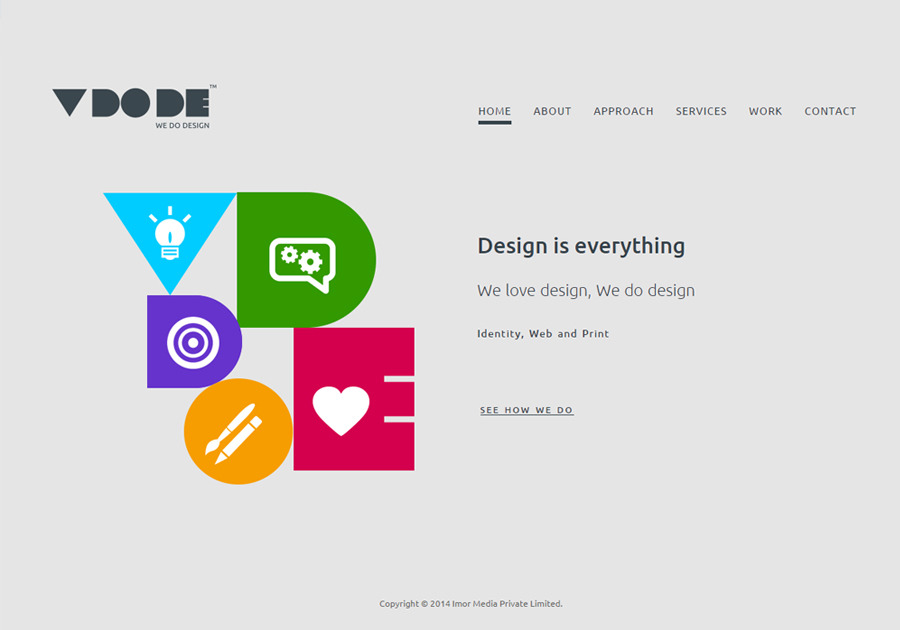 A great web design by VDODE , Hyderabad, India: