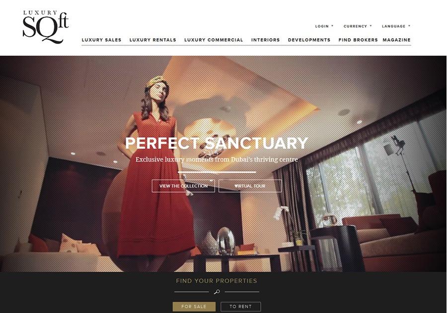 A great web design by Cyber Guru, Dubai, United Arab Emirates: Responsive Website, Web Application , Real Estate , PHP