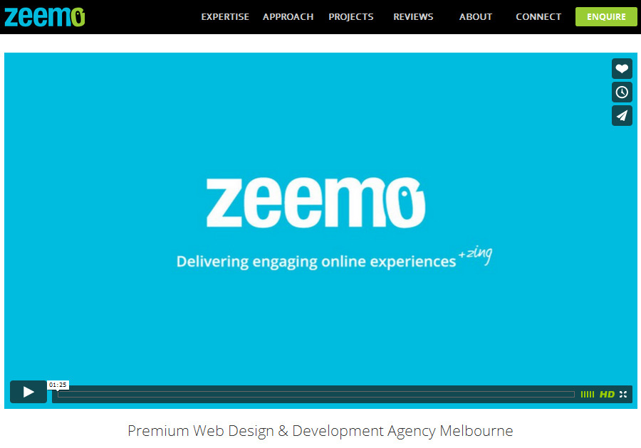 A great web design by Zeemo Pty Ltd., Melbourne, Australia: