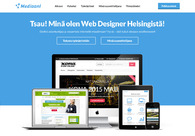 A great web design by Mediaani, Helsinki, Finland: