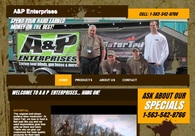 A great web design by River City Promotions, Chicago, IL: