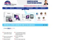 A great web design by computer Repair Pros, castle hill, Australia: